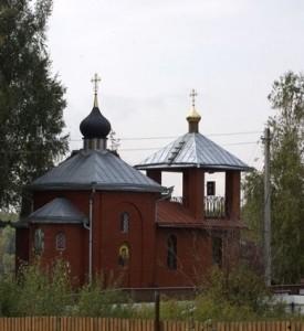 Храм-часовня Иоанна Воина д. Мартьянково
